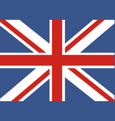 Flag of great britain official uk flag of the vector