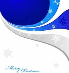 snowflakes vector image