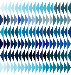 Blue tones triangles background vector image