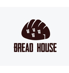 Ilustration of bread house vector