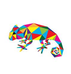 Geometric chameleon vector