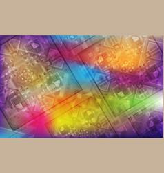 Magic background holiday iridescent background vector