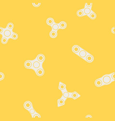 seamless pattern with fidget spinners vector image