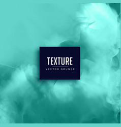 Stylish aqua color watercolor texture background vector