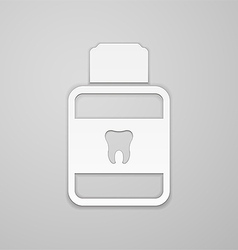 Mouthwash vector