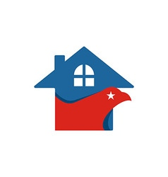 America house usa logo icon vector