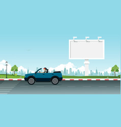 billboards vector image
