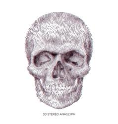 Skull 01 vector