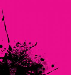 splash illustration vector image