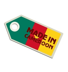 Made in Cameroon vector image