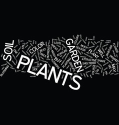 Bestplants text background word cloud concept vector