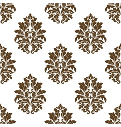 Damask style arabesque pattern vector