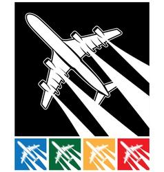 Plane symbol vector