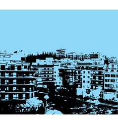 urban grunge vector image vector image