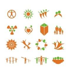 People health logo vector