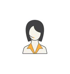 online help line icon customer service vector image