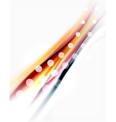 Blurred wave motion vector