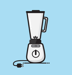 juice blender vector image