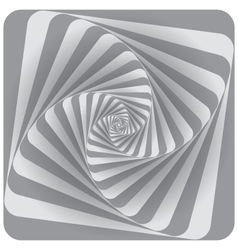 Abstract Spiral Background Gray vector image