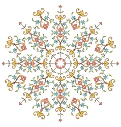 Ottoman motifs design series with thirty eight vector