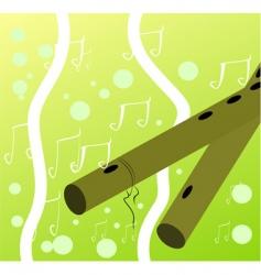 flutes vector image