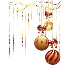 Decorative xmas balls4 vector