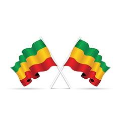 Ethopia flag vector