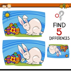 Easter task of differences vector