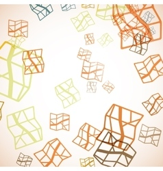 Abstract background map vector
