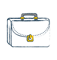 Briefcase icon image vector