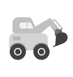 Escavator vector