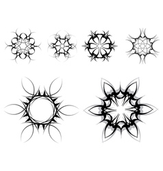 gothic style symbols vector image vector image
