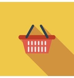 Shopping basket vector