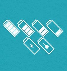 BatteriesSetVarY vector image