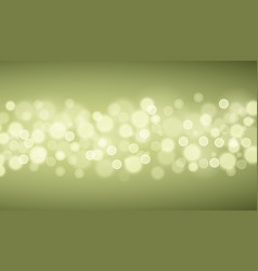 green lights backgrounds vector image vector image