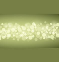 green lights backgrounds vector image
