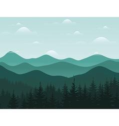 Mountain8 vector image