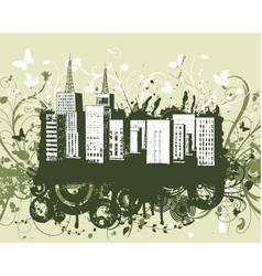 urban grunge vector image
