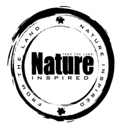nature stamp vector image vector image