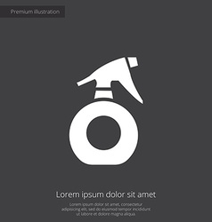 sprayer premium icon vector image