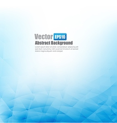 Blue abstract background with basic geometry vector