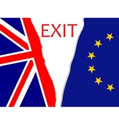 Brexit secession vector