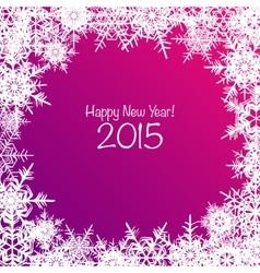 Shiny Happy New Year background vector image
