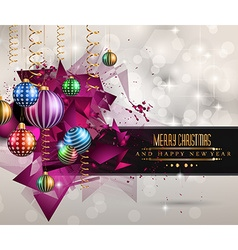 Christmas original modern background template vector