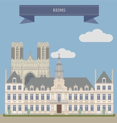 Reims vector image
