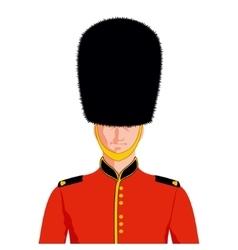 Royal british guard vector