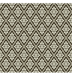 Decorative geometric pattern vector image vector image