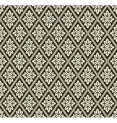 Decorative geometric pattern vector
