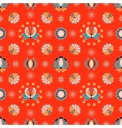 Floral hungarian ornament vector