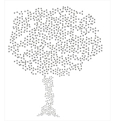 Human connection tree vector